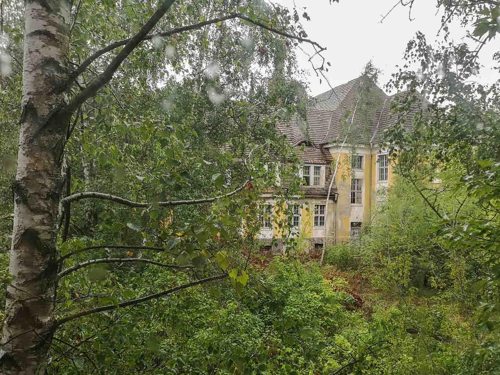 Verlassene sowjetische Schule in Brandenburg