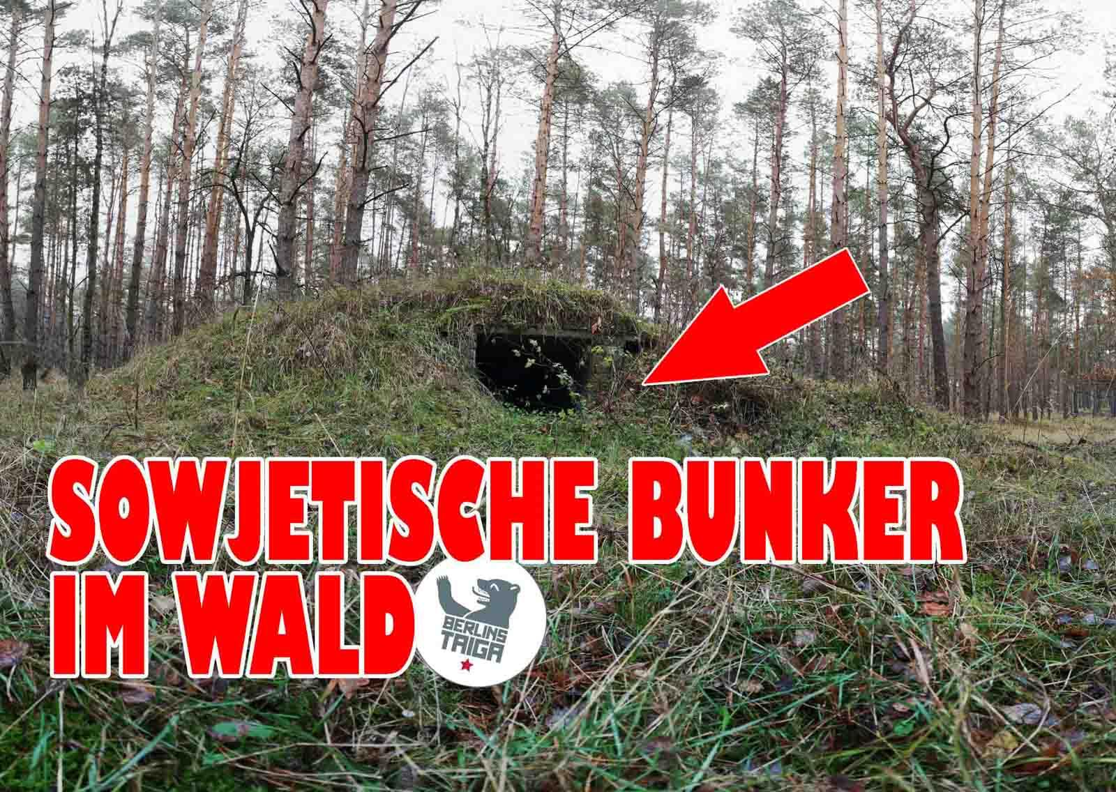 Sowjetische Bunker im Wald (VIDEO) -- Lost Places Brandenburg