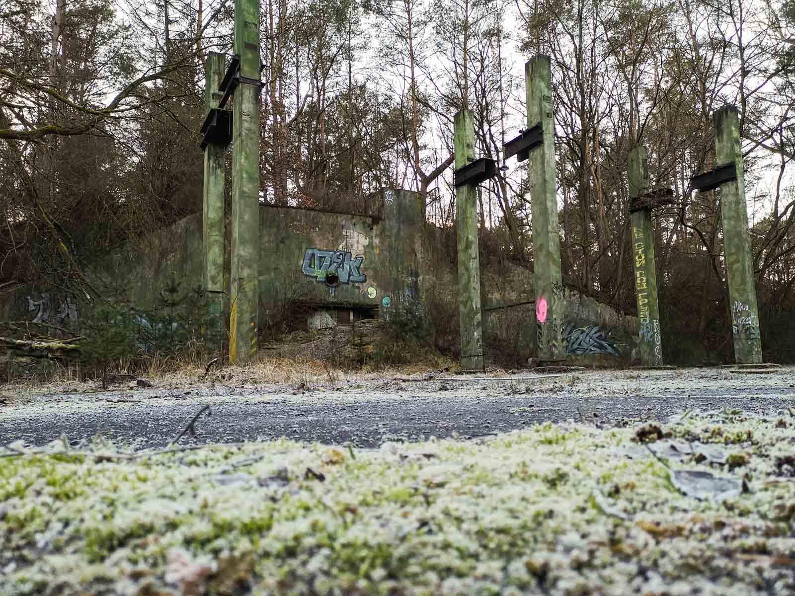 Waffenlager für nukleare Bomben bei -Little Prypjat- in Deutschland