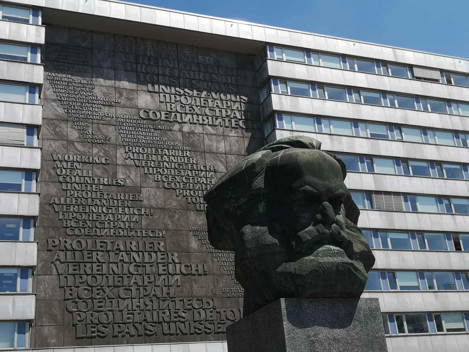 Karl Marx Kopf Chemnitz