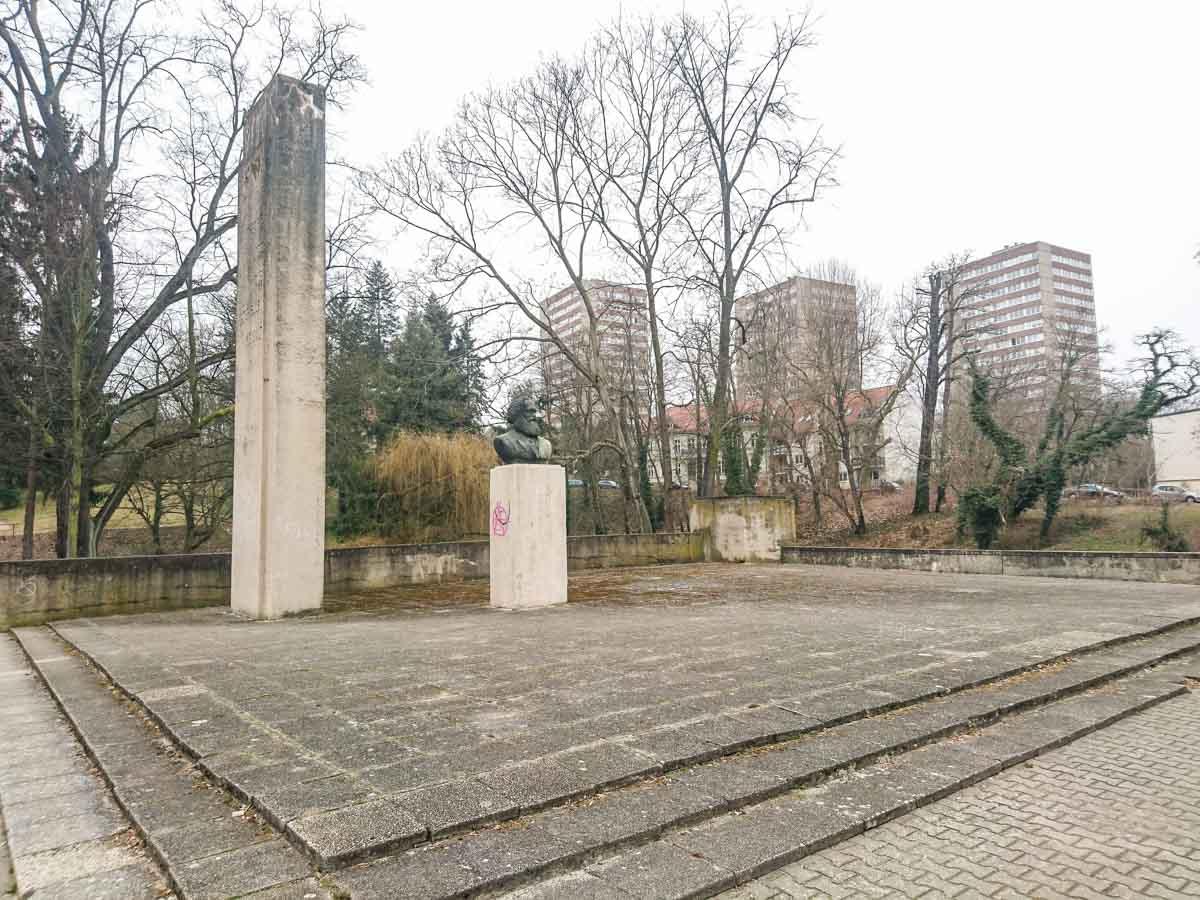 Karl Marx Denkmal Frankfurt Oder