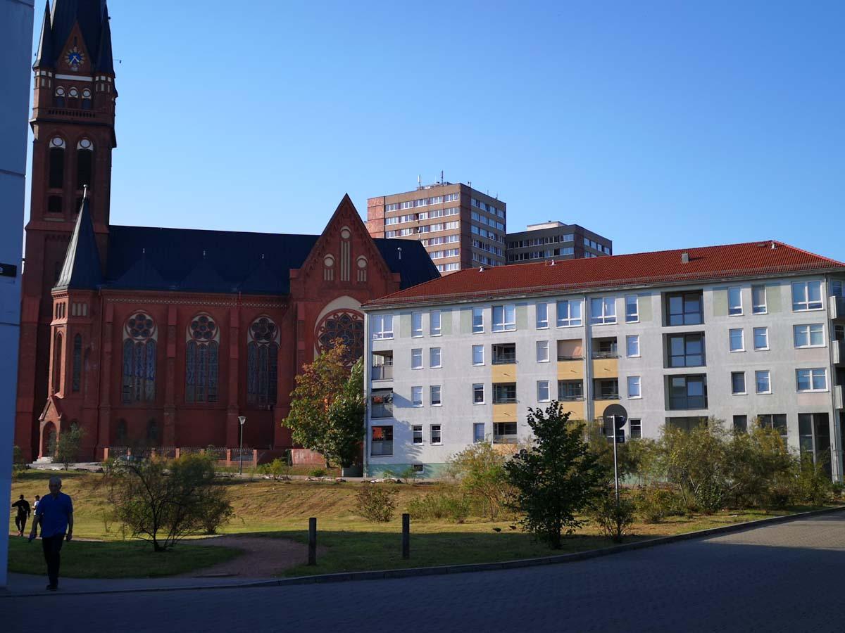 Moderne Architektur in Frankfurt Oder