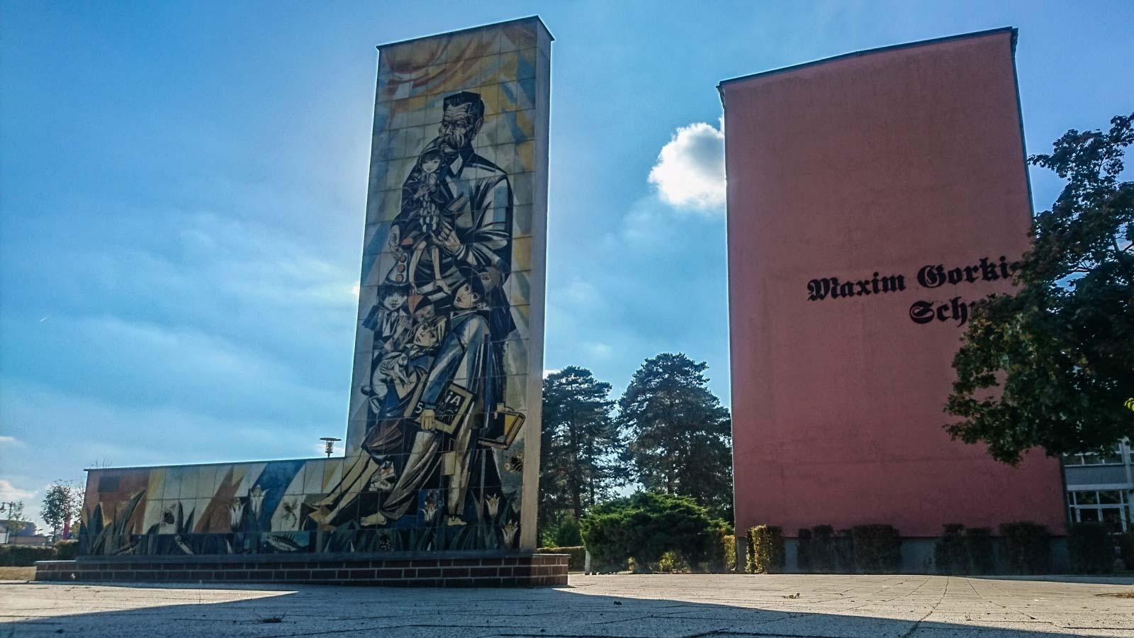 Maxim Gorki Schule in Bad Saarow